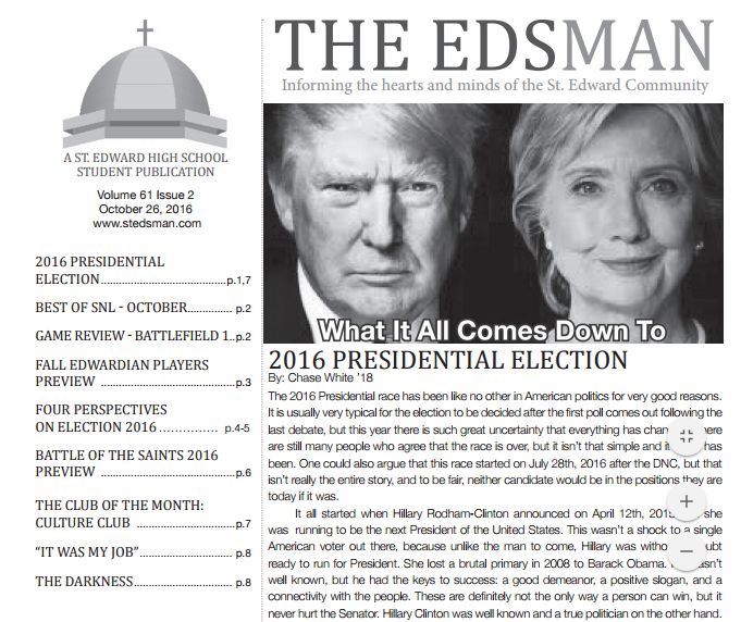 The Latest Edition of The Edsman is Published!