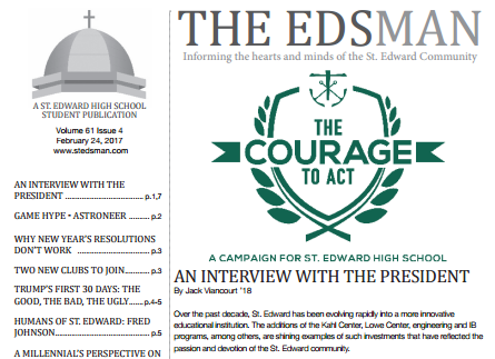 Read the Latest Edition of the Edsman!